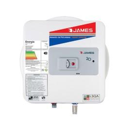 TERMOTANQUE JAMES 20 LTS ACERO S/SUP